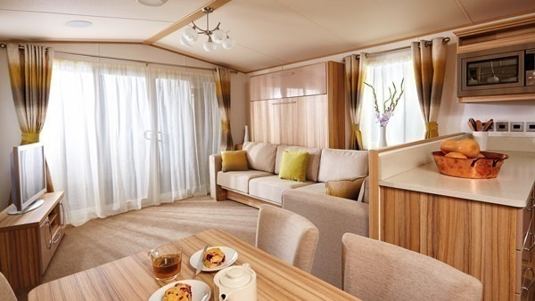 Trecco Bay Holiday Park luxury lodge hire